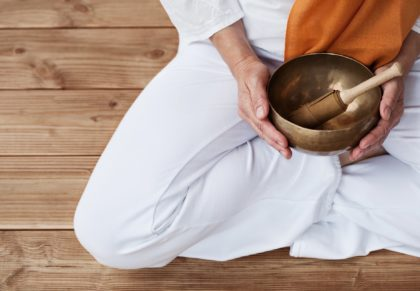 Yoga o Meditazione con Campane Tibetane
